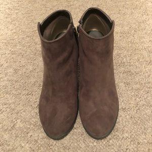 GAP Shoes - Gap Brown Booties Size 9